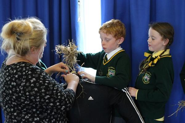 Building our scarecrow