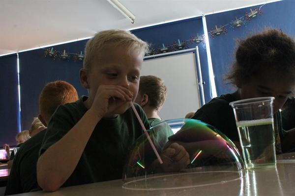 Bubble/ Forces lesson