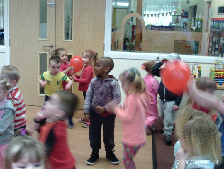 The Dance-a-thon was brilliant!