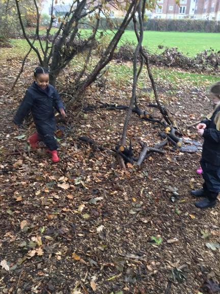 The log circle to keep the fairies safe