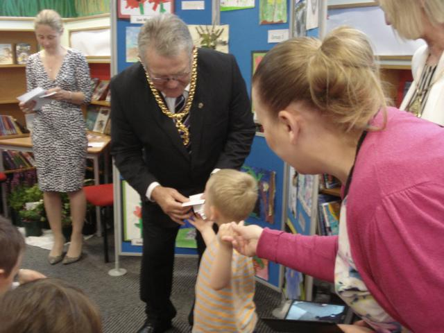 Nursery and Reception winner