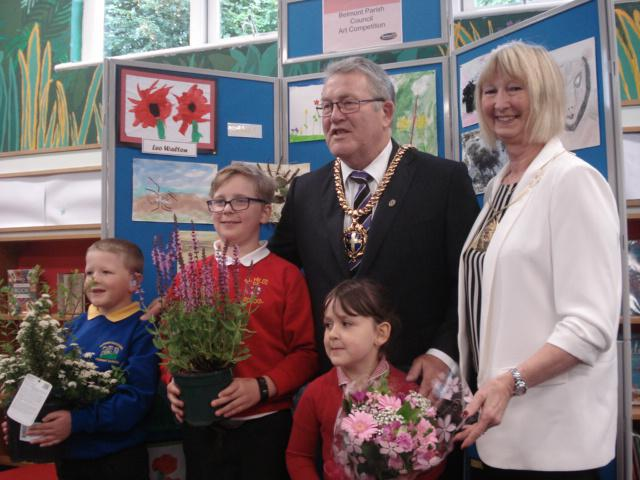 Our school was the overall winner for Year 3 and 4