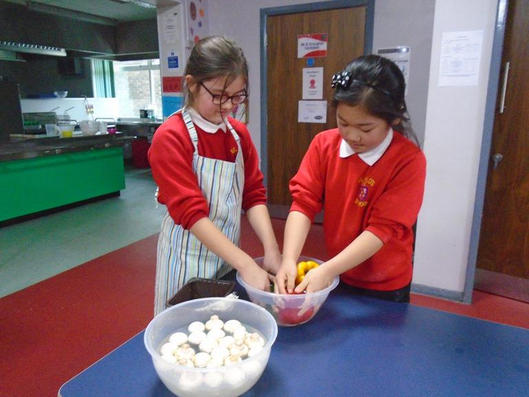 Year 6 did some cookery