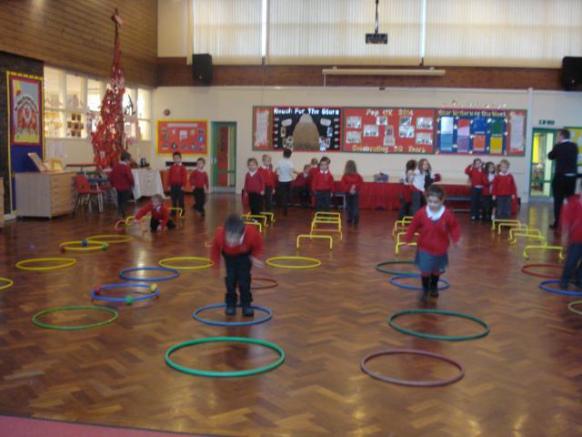 We counted forwards and backwards