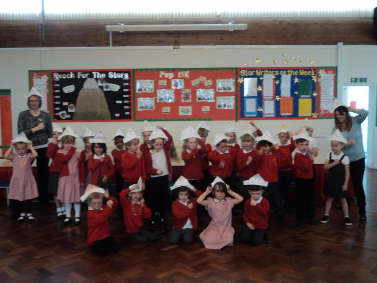 Violet Class created some fantatic pirate hats!