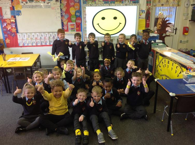 We wore a smile for World Mental Health day!