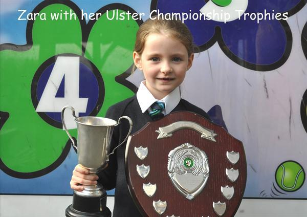 Ulster Irish Dancing Champion Zara