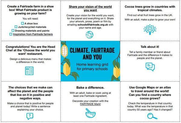 P4-7 Fairtrade Fortnight Activities