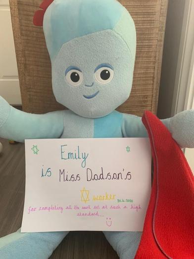 Amazing work Emily!