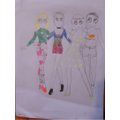 Maia's fashion designs