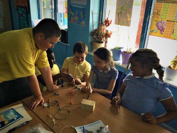 Our circuit games were a huge success!