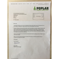 We are extremely grateful for the gift vouchers from Poplar Nursery in Marks Tye