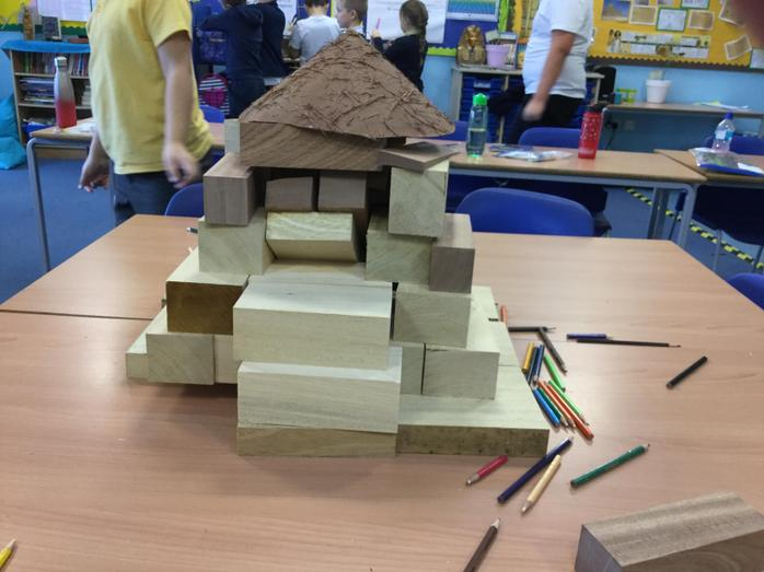 It took a while to create a pyramid. We felt sorry for the foreman controlling workers in ancient Egypt.