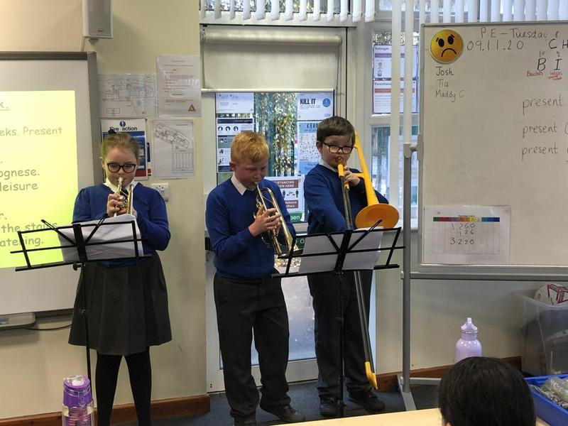 Autumn 2 Mini Brass Concert