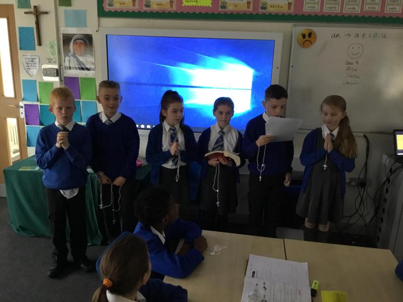Class Liturgies planned and delivered by children