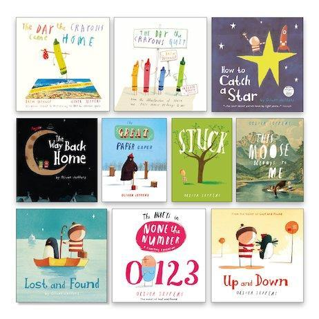 English & GR Focus - Oliver Jeffers Books