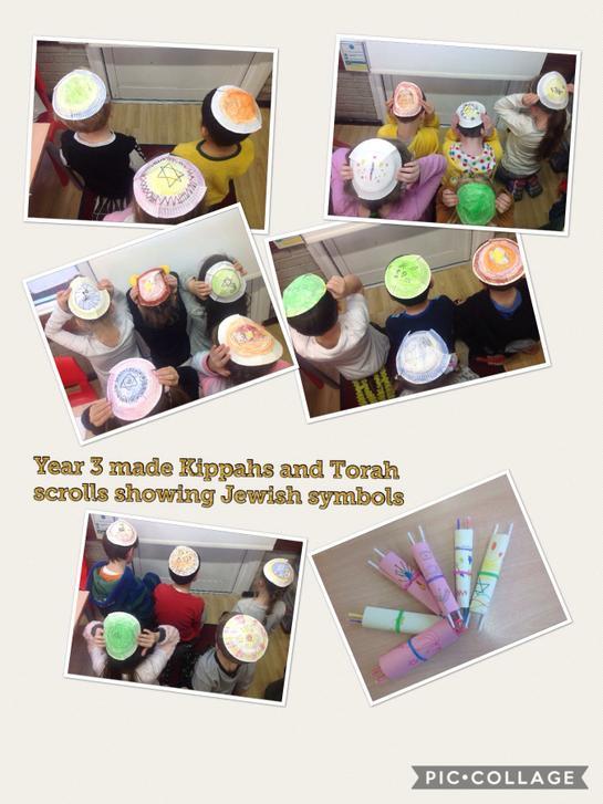 Kippahs and Torah Scrolls