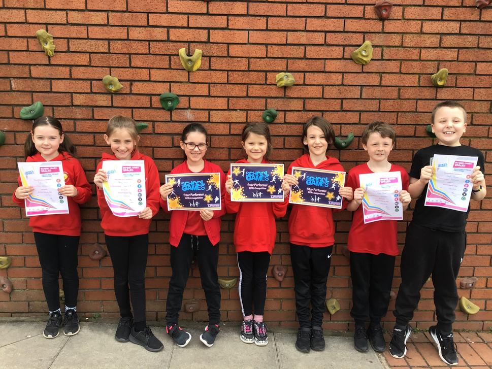 Well Done to the winners of these certificates chosen by our Sport Coach from WLSP