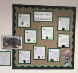 Our display of our news reports to be broadcasted.