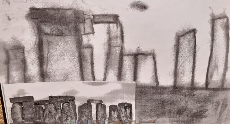 Year 4 Stonehenge Art