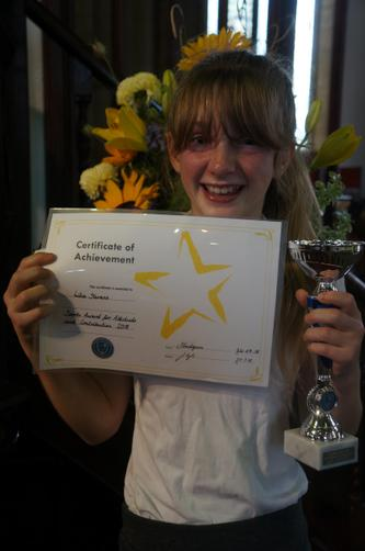 Sports Award For Attitude And Contribution