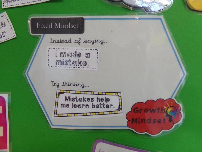 Mistakes help us learn!