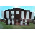 Rosie has created a Tudor world on Minecraft. Wow!