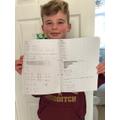 Wonderful Maths Henry! :o)