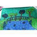 Shannon's Monet bridge