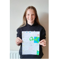 A fantastic poster about our oceans Isabelle!