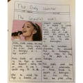 A super newspaper report by Ispbel
