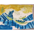 Drezden's Hokusai Wave painting. Well done!
