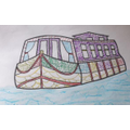 Shannon's canal boat