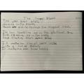 Ben T's poem. Great work Ben!