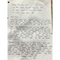 Isobel W's diary entry