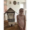 Incredible Tudor house made by Lyra!