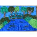 Isobel W's Monet bridge