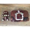 Isobel Wyke's gingerbread man and cake