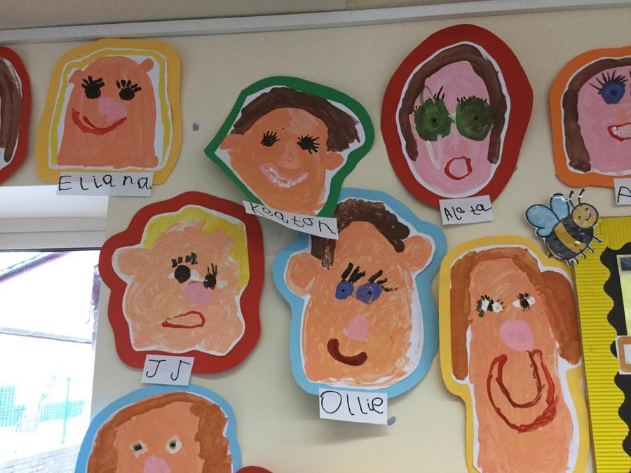 Our brilliant self portraits!