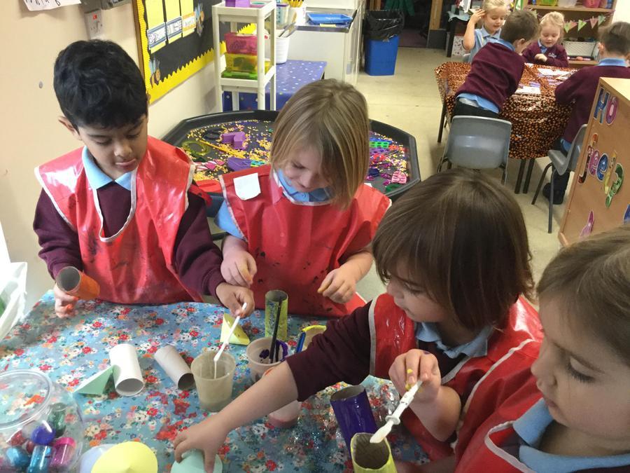 Creating rockets!
