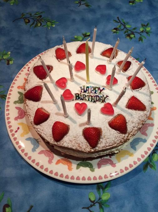 Our symbolic Pentecost cake