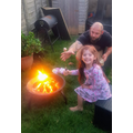 Fire safety and cooking (watch out for Dad!)