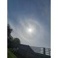 JACK R saw a rainboe around the sun