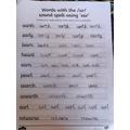 James' handwriting