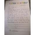 Faridat's letter to herself