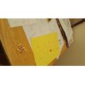 Maths work using treats!