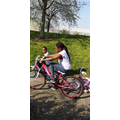 Keeping fit with bike riding