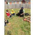 Forest School with Miss Reema