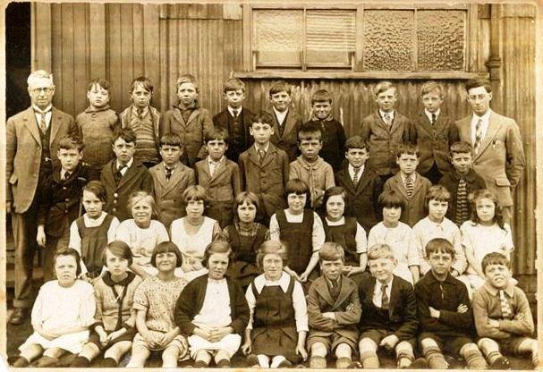 Tin School in St James Northampton 1928