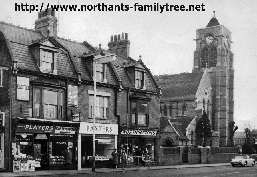 St James Road before 1965